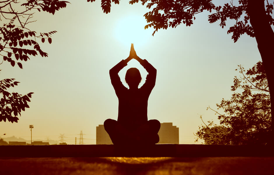 yoga ansia esercizi